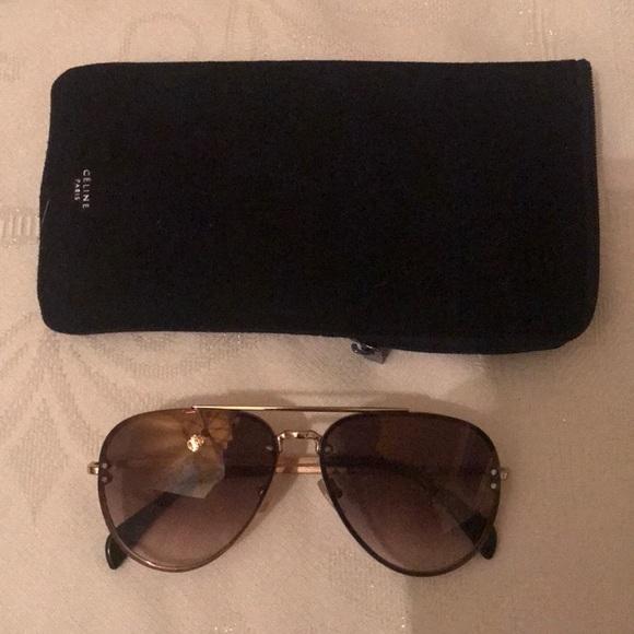 d4d3e4ebee0a Celine Aviator sunglasses